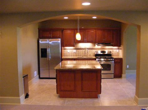 Basement Kitchen Design Mhi Interiors Novi Basement Remodel