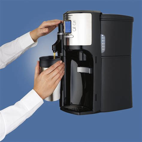 Dispenser Coffee Maker hamilton brewstation with flavor dispenser coffee maker 49150 black 40094491506 ebay