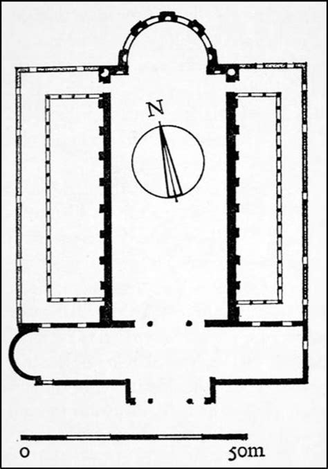 roman basilica floor plan early christian architecture plan of basilica constantine