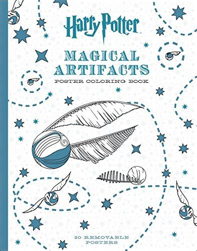 harry potter coloring book artifacts harry potter magical artifacts poster coloring book