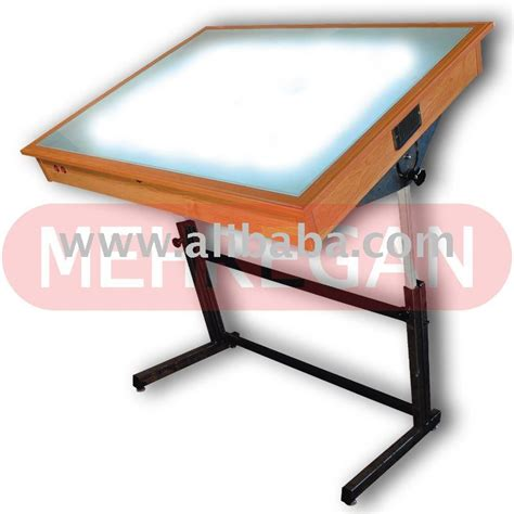 Tracing Desk With Light by Light Drafting Table Mehregan Engineering Trace Light Table L
