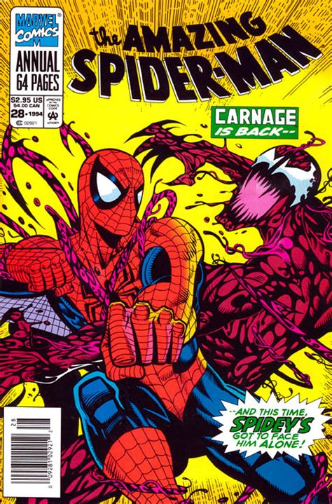 american carnage tales of trumpian dystopia books amazing spider annual vol 1 28 marvel database