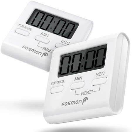Kitchen Timer Big W by Digital Kitchen Timer 2 Pack Fosmon Digital Display