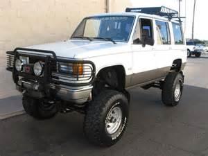 Isuzu Forum 1989 4 9l Cadillac Powered Isuzu Trooper 4x4 5mt 50k