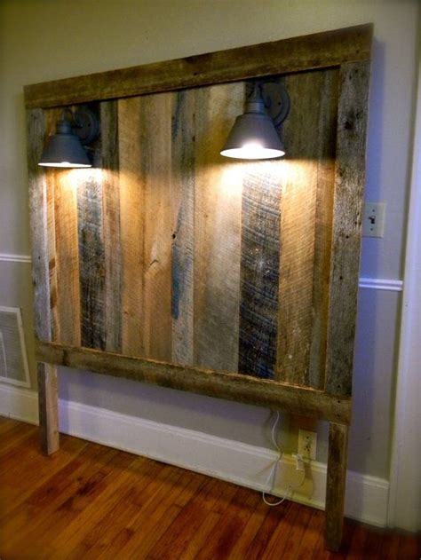 diy barn board headboard headboard made of barn wood diy pinterest