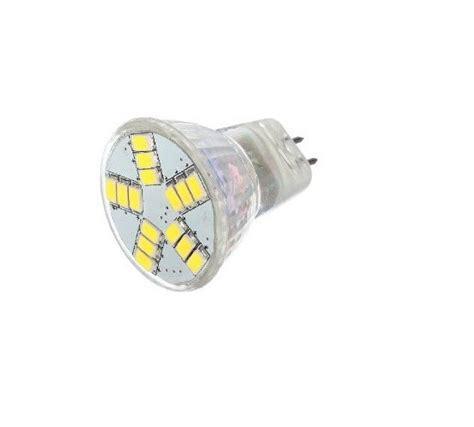 12 Volt Dc Led Light Bulbs 12vmonster Ac Dc 12 Volt 6w Cool White 15x 5630 Cluster Led Light Bulb Mr11 Gu4 Bi Pin L 20w