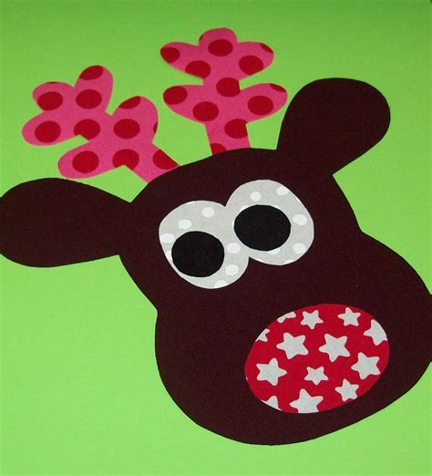printable reindeer applique fabric applique template pattern only zainey reindeer