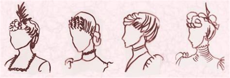 1899 hairdo styles mid victorian hairstyles and hats 1870 1900