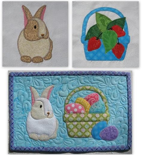 easter rugs 1000 images about mug rug easter on