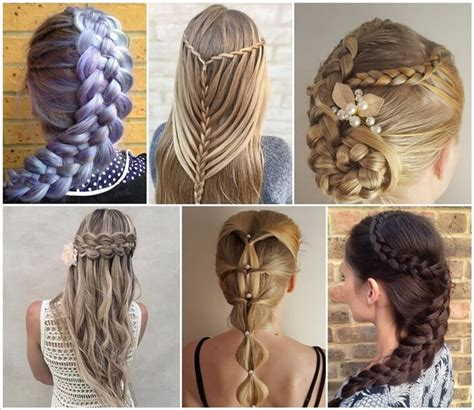 all kinds of hair style that have braides 75 stunning braided hairstyles for you to try