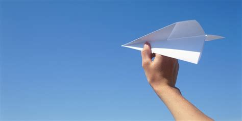 Plane With Paper - paper plane quotes quotesgram
