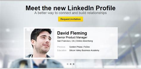 linkedin new profile design unveiled