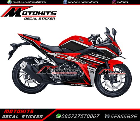 Decal Cbr 150 Lokal Black Shark Fullbody Cutting Pola inspirasi modifikasi decal sticker all new cbr150r black monggo kang bro motohits