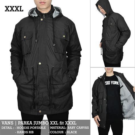 Jacket Parka Jumbo by Jaket Parka Pria Jumbo Big Size Hitam Hijau Maroon