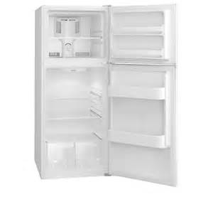 General Electric Apartment Size Refrigerator Frigidaire 9 9 Cu Ft Top Freezer Apartment Size