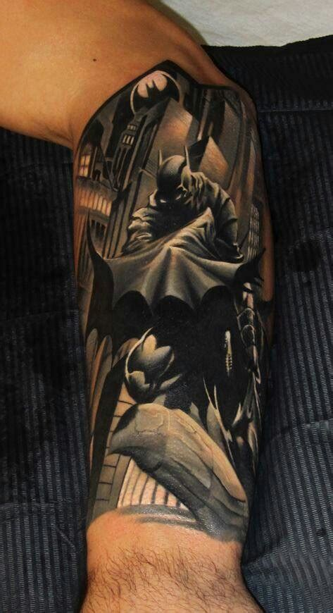 batman tattoo art batman superhero tattoo my ink idea pinterest batman