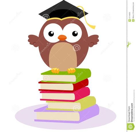 libro lart de perdre litterature 97 cute owl and books royalty free stock photo image 27718335