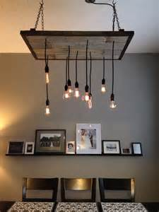 Diy Rustic Chandelier Diy Rustic Industrial Chandelier For The Home