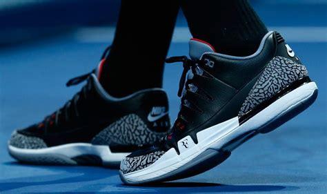 roger federer shoes solewatch roger federer wears black cement nike zoom