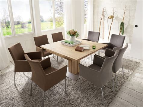 esszimmer tische quadratisch esstische aus massivholz dansk design massivholzm 246 bel