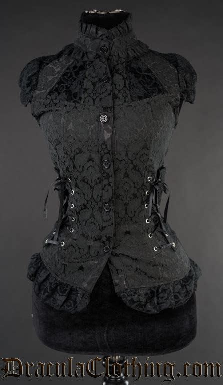 Brocade Lace brocade laced blouse