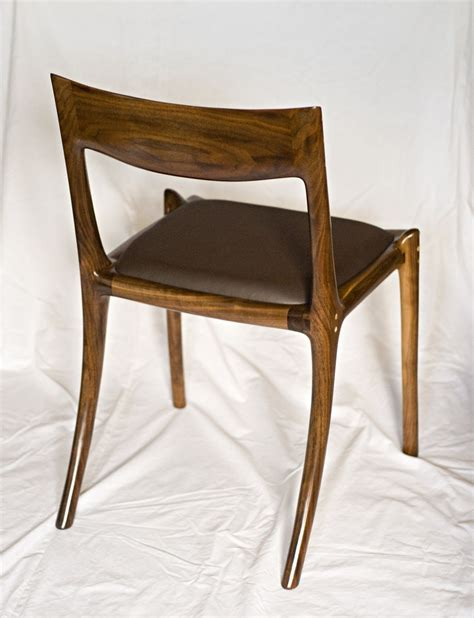 crafted low back dining chair by garybd woodworking
