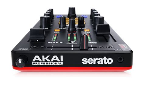 Mixer Audio 2 Channel akai 2 channel mixer with audio interface for serato dj mcquade musical instruments