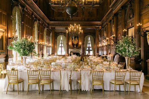 Elegant Gold and White Wedding   Elizabeth Anne Designs