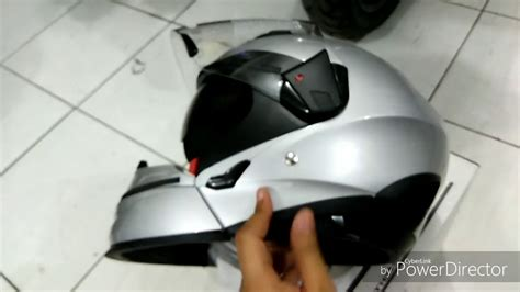 Helm Zeus Z610 S Sil unboxing helm zeus zs 611c version hd