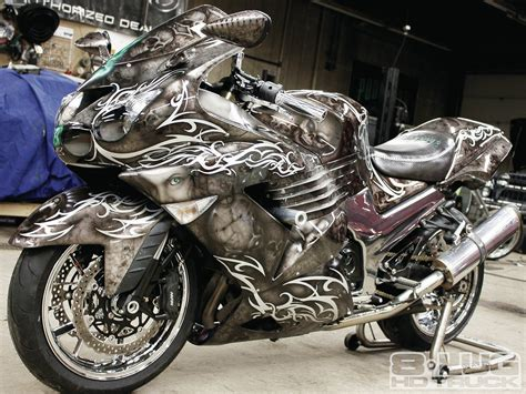 Airbrush Motive Motorrad by Motorcycle Airbrush Car Bike