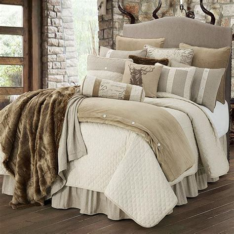 lodge bedding sets the fairfield lodge bedding set will add a luxurious