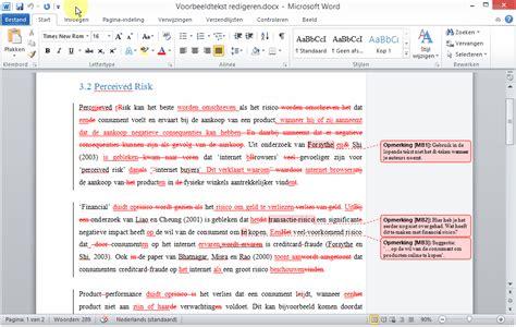layout word kopieren wijzigingen bijhouden en opmerkingen in word