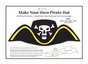 Make A Pirate Hat Out Of Paper - 17 best ideas about pirate hat crafts on