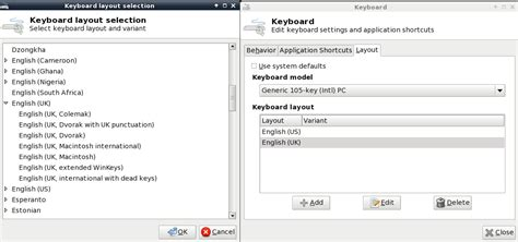 keyboard layout xfce centos how can i change my keyboard layout in centos6 6