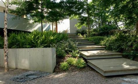 modern landscaping ideas modern garden landscape design planting concept interesting large wooden pallets would