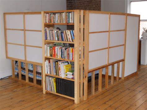 how to anchor a bookcase without drilling bookcases bookcase room dividers ikea expedit divider