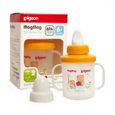 Pigeon Magmag Step 2 With Spout 6 Bulan Keatas jual pigeon mag mag step 2 pr050903 spout cup