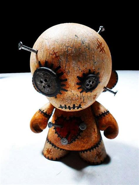 Scary Home Decor by Munny Voodoo Doll 171 Horrific Finds