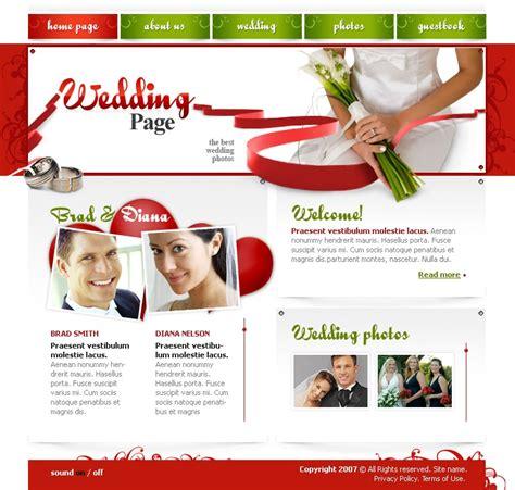 Wedding Album Website Template by Wedding Album Website Template 15664