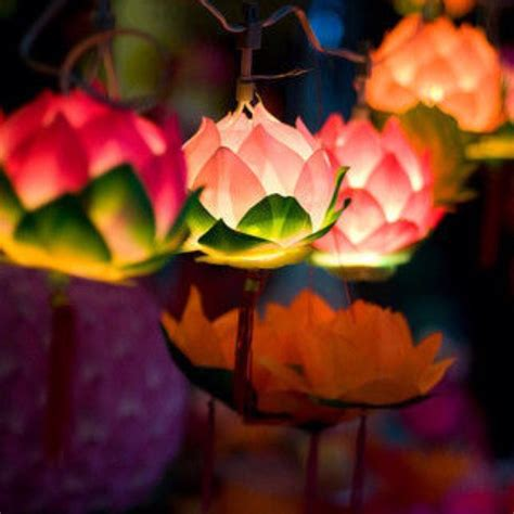 How To Make Paper Lotus Lantern - flower lotus and paper on