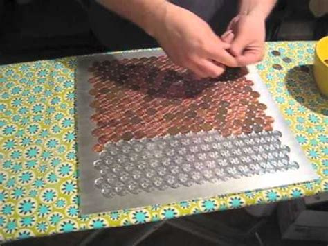 Kitchen Copper Backsplash by Penny Floor Youtube