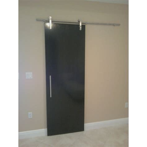 steel barn door geneva stainless steel barn door hardware for wood doors