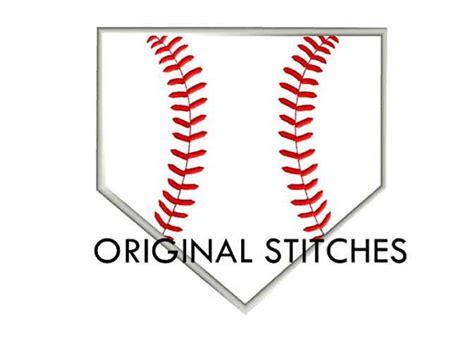 home plate baseball home plate baseball applique machine embroidery digital design