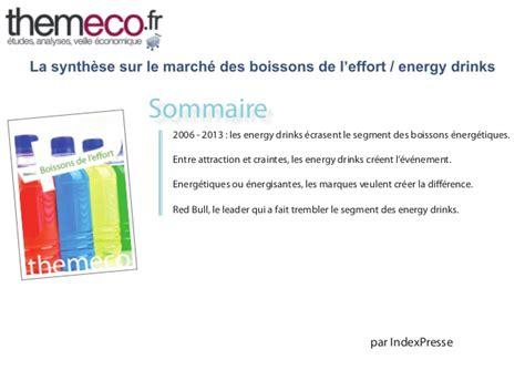 march de l energy drink pour une 233 tude du march 233 des boissons de l effort energy