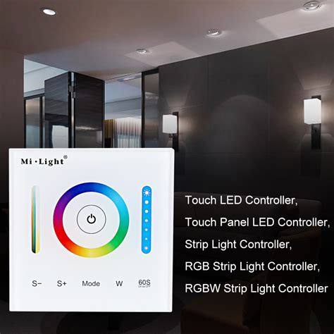touch control ls touch panel led controller f 252 r rgb rgbw rgb cct