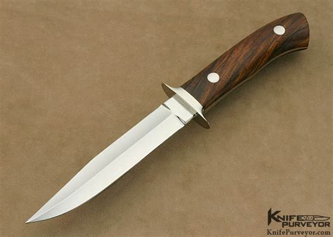 custom boot knife william quot gordon quot defreest ironwood boot knife