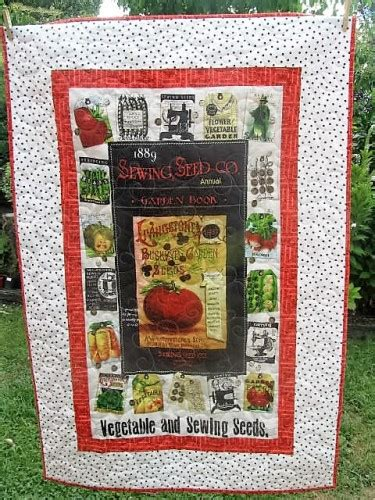 sewing seeds quilt kit