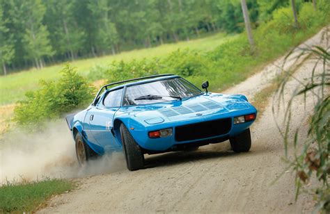Lancia Blue Rm Sotheby S Selling Blue Lancia Stratos Hf Stradale