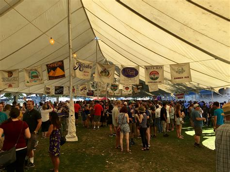 Or Festival Reviewing The 29th Annual Oregon Brewers Festival