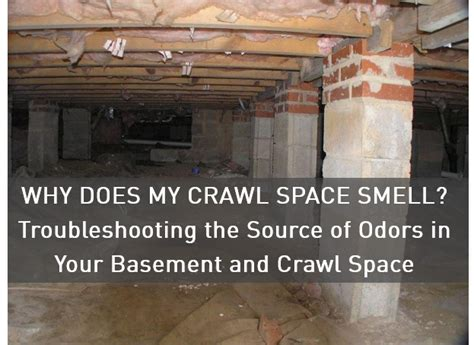 why does my crawl space smell troubleshooting the source